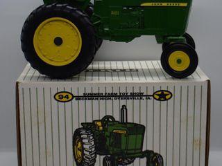 John Deere 3020 die cast tractor  1 16 scale