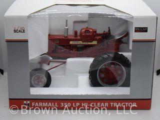 Farmall 350 lP Hi Clear die cast tractor  1 16 scale