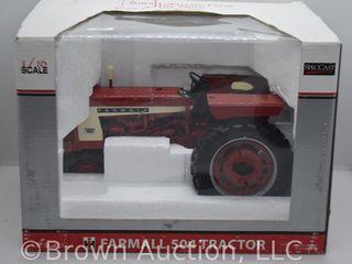 Farmall 504 die cast tractor  1 16 scale