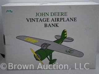 John Deere die cast coin bank