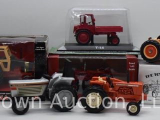 6  die cast Tractors  all 1 43 scale