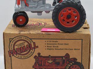 Farmall F 20 die cast tractor  1 16 scale
