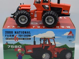 Allis Chalmers 7580 4WD die cast tractor  1 32 scale