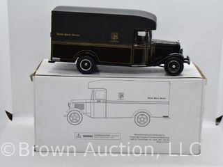 1934 Ford Model A delivery van  die cast  1 28 scale