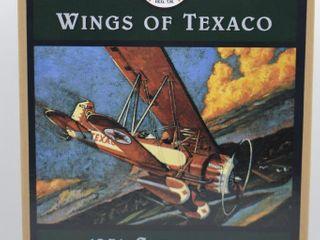 Wings of Texaco  die cast coin bank   1931 Stearman Biplane