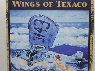 Wings of Texaco  die cast coin bank   1927 Ford Tri Motored Monoplane