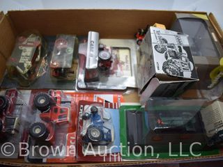 8  die cast Tractors  all appear 1 64 scale