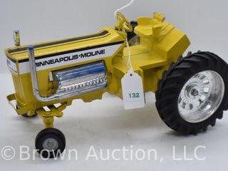 Minneapolis Moline die cast tractor  1 16 scale