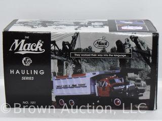 1960 Mack model B 61 dump truck  die cast