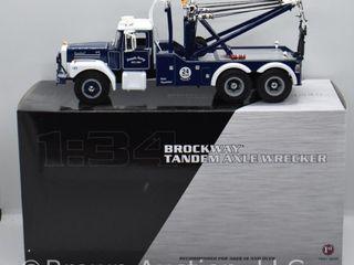 Brockway Tandem Axle Wrecker  die cast  1 34 scale