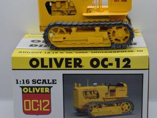 Oliver OC 12 diesel crawler Trac Tractor  die cast  1 16 scale
