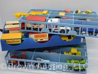36  assorted Matchbox  lesney  etc  toys