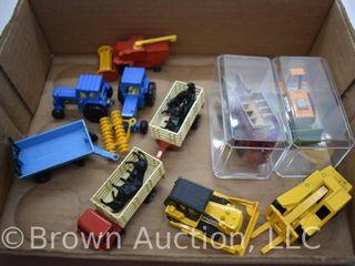assortment of lesney Matchbox toys