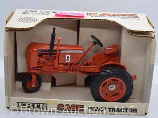 Case VAC die cast tractor  1 16 scale  black exhaust