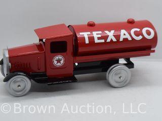 Pressed steel Texaco Tanker truck