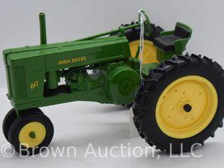 John Deere 60 die cast tractor  1 16 scale