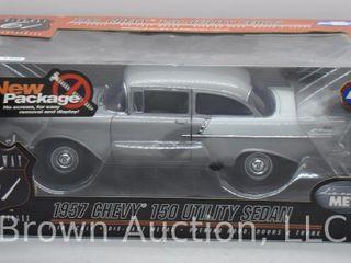 1957 Chevrolet 150 Utility Sedan  1 18 scale