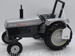 White American 60 die cast tractor  1 16 scale
