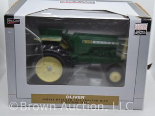 Oliver 1855 die cast tractor  1 16 scale