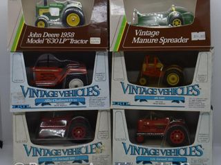 6  die cast Tractors and Implements  all 1 43 scale
