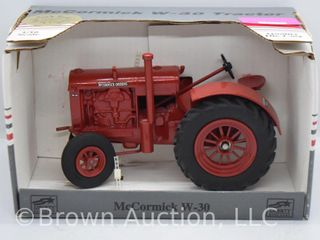 McCormick W 30 die cast tractor  1 16 scale