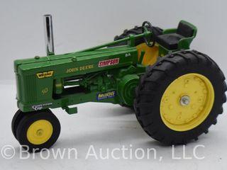John Deere 50 die cast tractor  1 16 scale