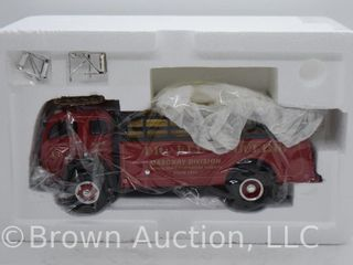 1953 White 3000 Truck with Stake Body die cast model  1 34 scale