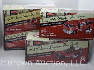 4  die cast Texaco models  all 1 30 scale