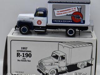 1957 International R 190 Dry Goods Van  die cast  1 34 scale