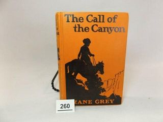 1924 Zane Grey  The Call of the Canyon
