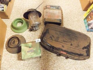 Camp Stove  Coleman lantern Pieces