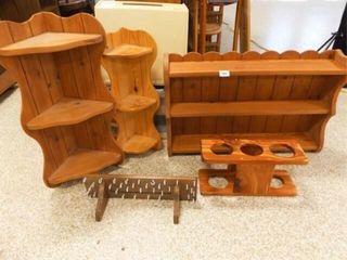 Wood Shelves  5