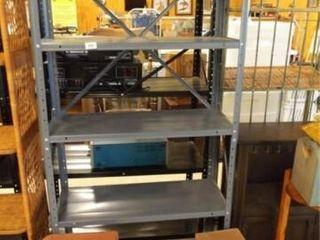 Bricks  12  Metal Shelf Unit  61  x 30  x 12