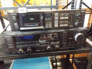 Kenwood Receiver  Cassette Deck