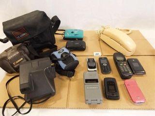 Cameras  Telephones  Cases