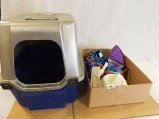 Cat litter Box  Bowl  Accessories