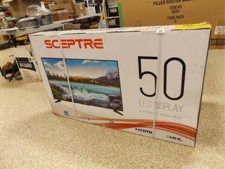 Sceptre lED TV in Box