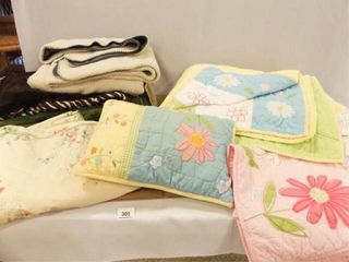 Pottery Barn Quilt  Bedding  Throws