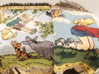 Winnie the Pooh Throws  2