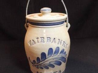 Fairbanks  AK Stoneware Crock