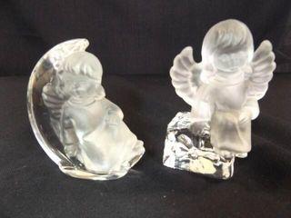 Goebel lead Crystal Figurines  2