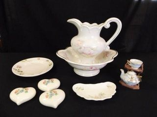 Decorated Porcelain Type Pieces  10