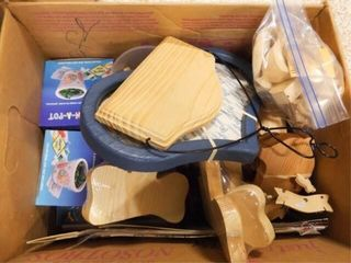 large Boxes of Assorted Crafts