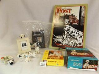 Dalmatian Dog Items  Tin Sign  Puzzles