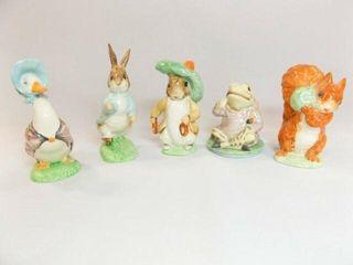 Beatrix Potter s Figurines  5