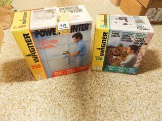 Wagner Power Painter  Power Sprayer