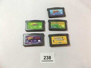 Nintendo Game Boy Advance Games  5