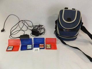 Nintendo DS Games  4  Gamester Bag