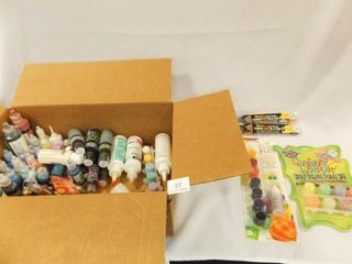 Craft Paints   Variety   one box