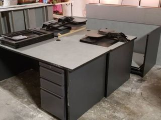Cubicle Parts  Walls  Desks  Metal 3 Drawer Cabinet  Top Cabinets and other Cubicle Accessories